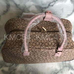 Calvin Klein Bags - Calvin Klein Duffel Bag Rolling Luggage blush pink e276000e1286b